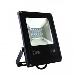Светодиодный прожектор BIOM 20W S2-SMD-20-Slim 6500К 220V IP65