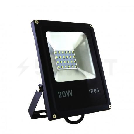 Светодиодный прожектор BIOM 20W S2-SMD-20-Slim 6500К 220V IP65 - купить