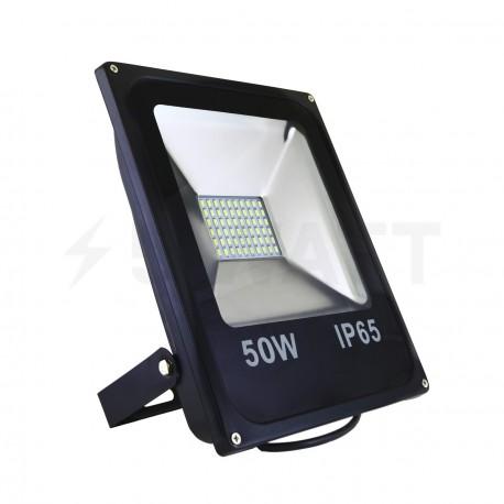 Світлодіодний прожектор BIOM 50W S2-SMD-50-Slim 6500К 220V IP65 - придбати