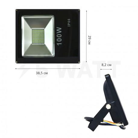 Светодиодный прожектор BIOM 100W S2-SMD-100-Slim 6500К 220V IP65 - в Украине