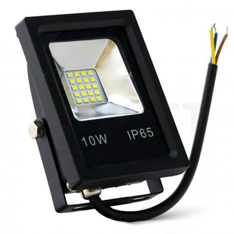 Светодиодный прожектор BIOM 10W SMD-10-Slim 6500К 220V IP65 - купить