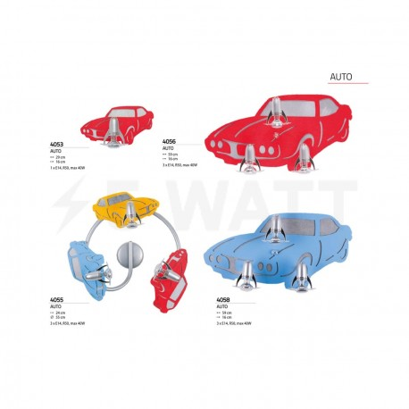 Настінний світильник NOWODVORSKI Auto Red 4053 - недорого