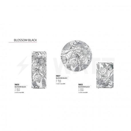 Настінний світильник NOWODVORSKI Blossom Black 5607 - недорого