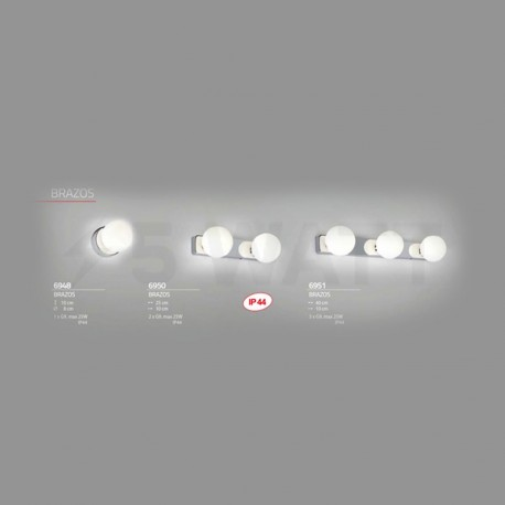 Настінний світильник NOWODVORSKI Brazos 6950 - недорого