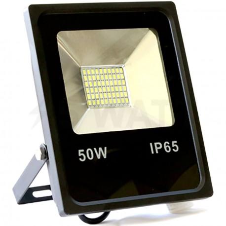 Светодиодный прожектор BIOM 50W SMD-50-Slim 6500К 220V IP65