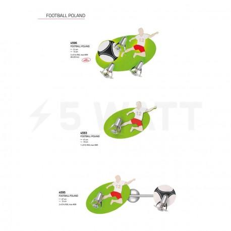 Настенный светильник NOWODVORSKI Football Poland 4593 - недорого
