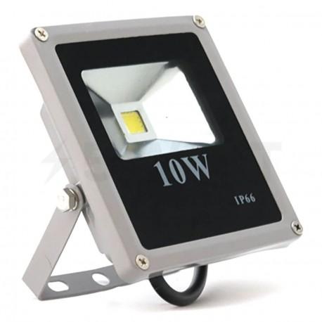 Светодиодный прожектор матричный OEM 10W IP65 slim 220V CW холодный белый - купить
