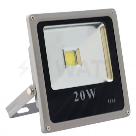 Светодиодный прожектор матричный OEM 20W IP65 slim 220V CW холодный белый - купить