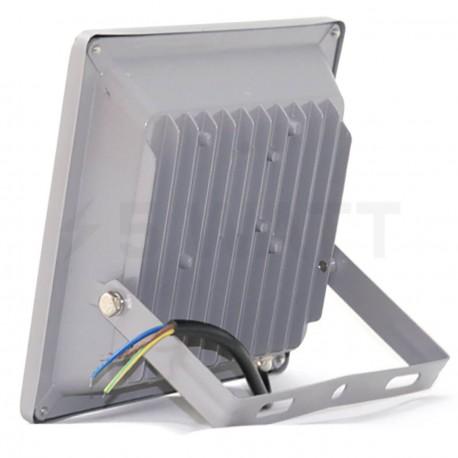 Світлодіодний прожектор матричний OEM 20W IP65 slim 220V CW холодний білий - в Україні
