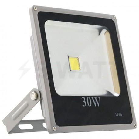 Світлодіодний прожектор матричний OEM 30W IP65 slim 220V CW холодний білий
