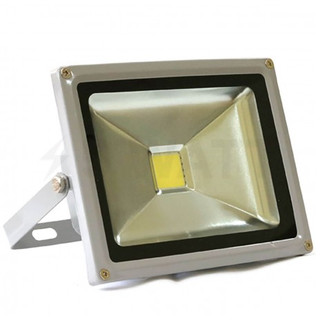 Светодиодный прожектор матричный OEM 20W 220V IP65 CW холодный белый econom - купить
