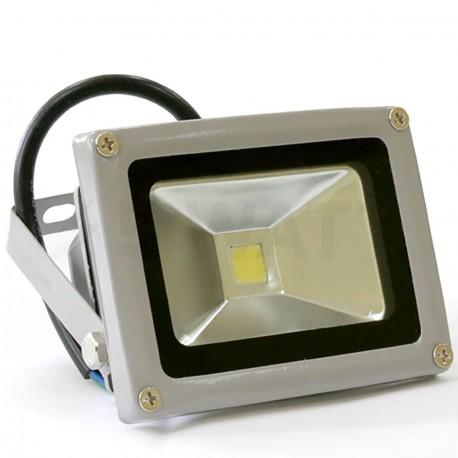 Світлодіодний прожектор матричний OEM 10W IP66 220V СW холодний білий - придбати