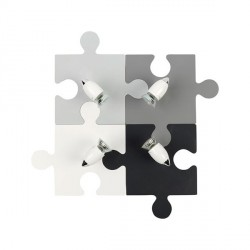 Настенный светильник NOWODVORSKI Puzzle Gray 9728