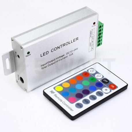 Контроллер RGB OEM 12А-RF-24 кнопки - в Украине