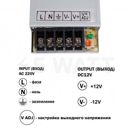 Блок живлення OEM DC12 25W 2,1А TR25-12 - в Україні