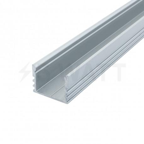 Профіль алюмінієвий анодований LED LP-12 - придбати