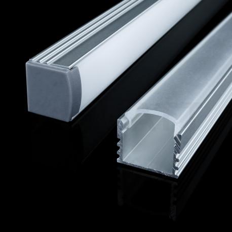 Профіль алюмінієвий анодований LED LP-12 - недорого