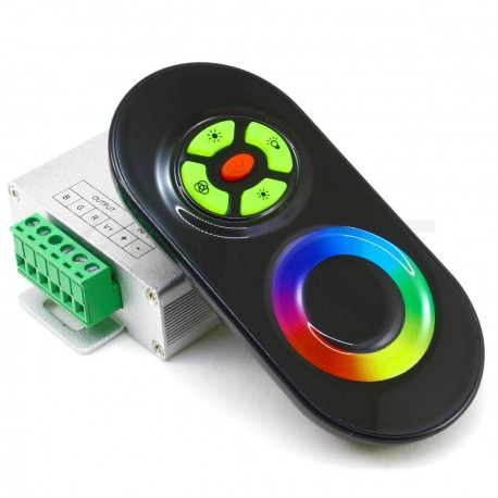 Контролер RGB OEM 18А-RF-5 Touch чорний - придбати