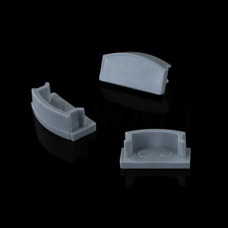 Заглушка BIOM для профиля ЛП7 6х15.5мм - недорого