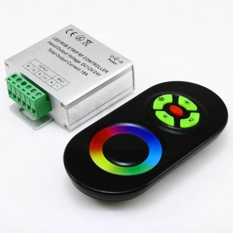 Контроллер RGB OEM 18А-RF-5 Touch черный - недорого