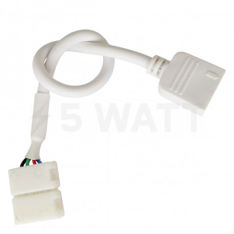 Коннектор для светодиодных лент OEM №10 10mm RGB joint joint-F wire (зажим-провод-зажим папа) - купить