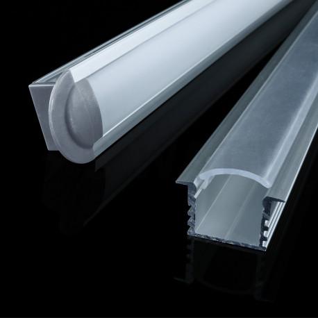 Профіль алюмінієвий анодований LED LPV-12 - недорого