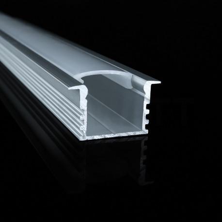 Профіль алюмінієвий анодований LED LPV-12 - в Україні