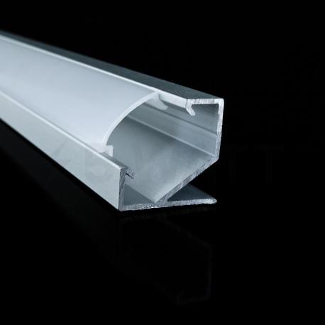 Профіль алюмінієвий LED DX кутовий ЛПУ17 17х17 анодований (палка 2м), м - в Україні