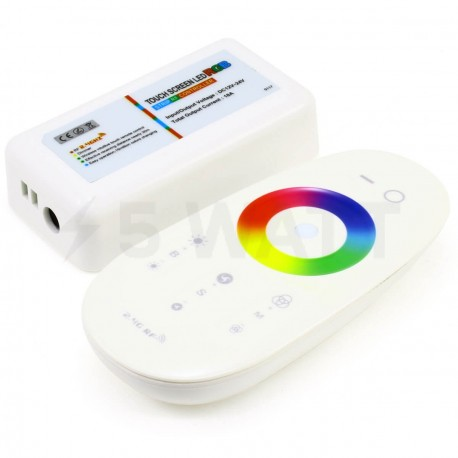Контролер RGB OEM 18А-2.4G-Touch білий - недорого