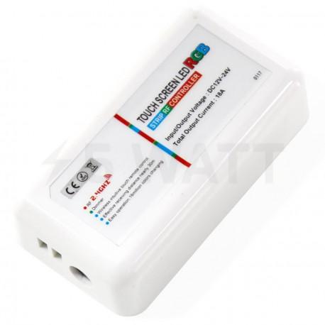 Контролер RGB OEM 18А-2.4G-Touch білий - в Україні
