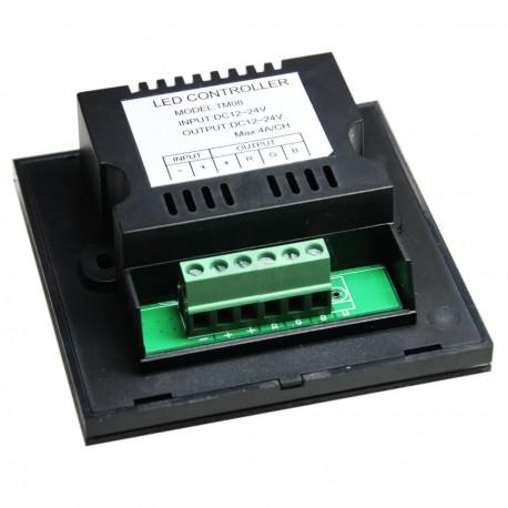 Контроллер RGB OEM 12A-Touch black встраиваемый - недорого