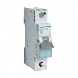 Автоматический выключатель QC 1P 6kA B-6A 1M, Hager (MBS106)