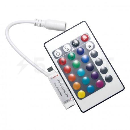 Контроллер RGB OEM 6А-IR-24-MINI кнопки - купить