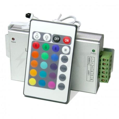 Контролер RGB OEM 20А-IR-24 кнопки - придбати