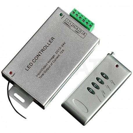 Контроллер RGB OEM 12А-RF-4 кнопки - недорого
