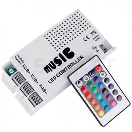 Контролер RGB OEM 9A-IR-24 music - придбати