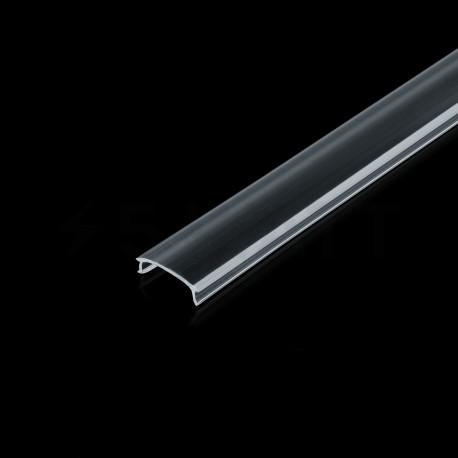 Розсіювач прозорий BIOM для LED профіля, м - недорого