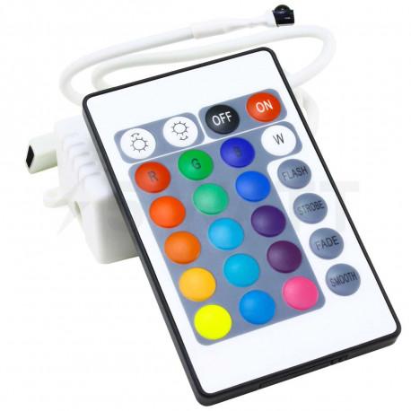 Контролер RGB OEM 6А-IR-24 кнопки - придбати