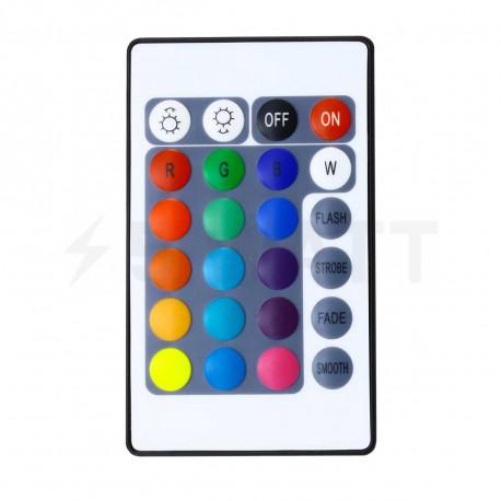 Контролер RGB OEM 6А-IR-24 кнопки - магазин світлодіодної LED продукції