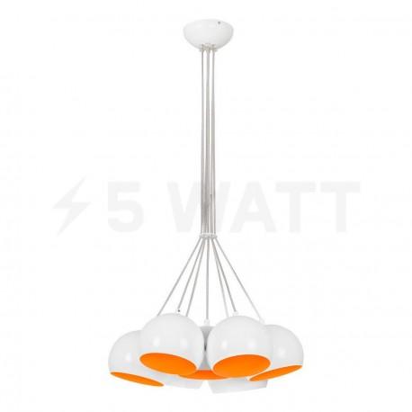 Люстра NOWODVORSKI Ball White-Orange Fluo 6582 - купить