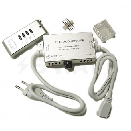 Контролер RGB 220B OEM 550W-RF-4 кнопки