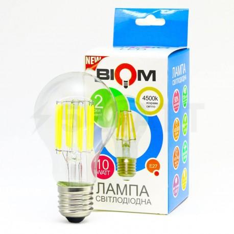 Світлодіодна лампа Biom FL-314 A60 10W E27 4500K - в інтернет-магазині