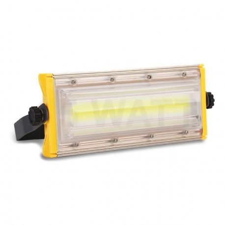 Светодиодный прожектор BIOM 50W COB Pro IP65 slim 220V холодный белый - купить