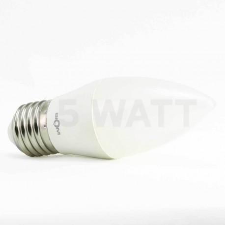Светодиодная лампа Biom BB-409 C37 7W E27 3000К матовая - недорого
