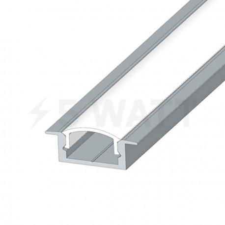Профіль алюмінієвий анодований LED LPV-7 - недорого