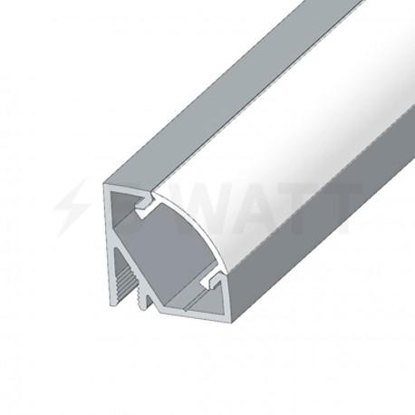 Профиль алюминиевый анодированный LED угловой LPU-17 - в интернет-магазине