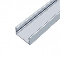 Профіль алюмінієвий LED DX7 7х16, анодований (палка 2м), м