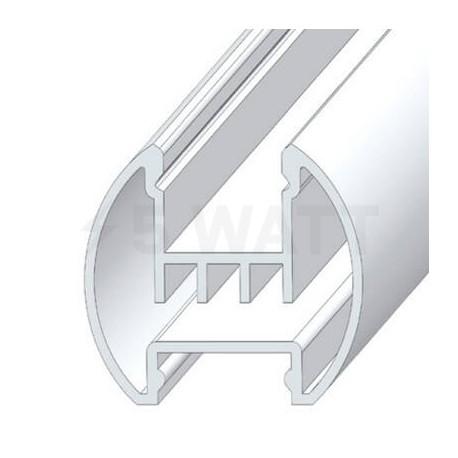 Профиль алюминиевый анодированный LED круглый LCK - недорого