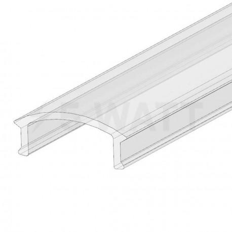 Рассеиватель прозрачный LRP для LED профиля, м - купить