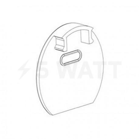 Заглушка ЗСКО с отверстием для круглого профиля ЛСК - придбати